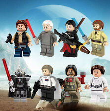 8pcs STAR WARS Rogue One Minifigures set fits lego Baze Malbus Darth Malgus