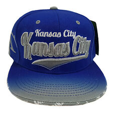 KANSAS CITY EMBROIDERED FLAT FLASH Snapback Cap