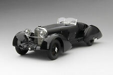 True Scale 1/18 Mercedes Benz SSK Count Trossi Roadster Black 1930 RESIN 154315