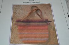 Knit One Crochet Too Knitting Pattern Prism Felted Bag
