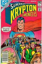 (Superman Presents The) Krypton Chronicles # 1 (of 4) (Curt Swan) (USA, 1981)