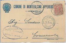 CARTOLINA d'Epoca ASCOLI PICENO provincia - Montefalcone Appennino 1914