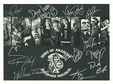 SONS OF ANARCHY  RP Autographed HQ GLOSSY FRIDGE MAGNET *02