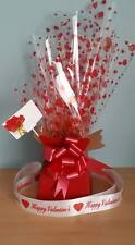 1 x Flower Bouquet Box & 1 x Pull Bow* 1m Cello Ribbon SPECIAL OFFER VALENTINES