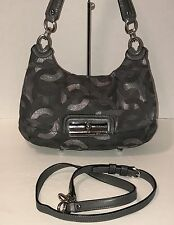 Coach 18281 Kristin Metallic Lurex Bag/Purse/Satchel/CrossBody