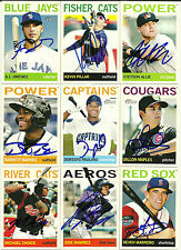 2013 Topps Heritgate DILLON MAPLES Signed Card CUBS auto rc kane county cougars