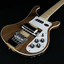 New Rickenbacker 4003 Bass Guitar Walnut Satin Finish with Rickenbacker Case