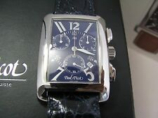 Paul Picot 4092 American Bridge Lady Quartz  Chronograph New