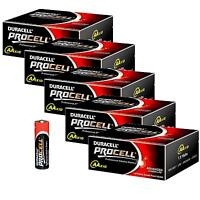 50 DURACELL PROCELL AA BATTERIES PROFESSIONAL  ALKALINE 1.5V 2018 EXPIRY