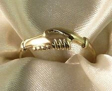 ANELLO SANTA RITA DA CASCIA IN ORO 18 K 750 % YELLOW GOLD SAINT RITA RING