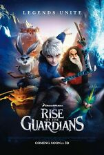 Rise of the Guardians - original DS movie poster - D/S 27x40 - Animated INTL