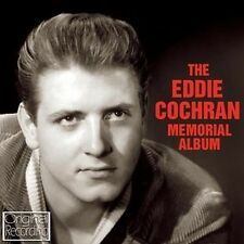 CD EDDIE COCHRAN MEMORIAL ALBUM C'MON EVERYBODY SUMMERTIME BLUES THREE STEPS TO