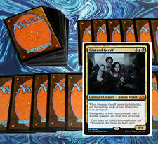 mtg BLACK BLUE ZOMBIES DECK Magic the Gathering rare cards SOI gisa and geralf