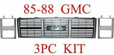 85 88 GMC Truck 3PC Grill & Head Light Door Kit, Jimmy, Suburban GM1200401