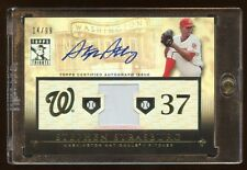 2010 TRIBUTE STEPHEN STRASBURG RC AUTO /99 GAME USED BASE TRUE RC AUTOGRAPH MINT