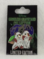 Disney Ghoulish Graveyard Collection Chip Dale Halloween Ghost LE Pin 1500
