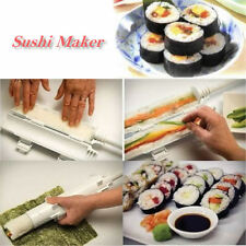 Chef Sushi Roll Maker Making Kit Mold Sushezi Rice Roller Mould Kitchen DIY Set