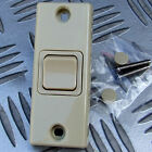 BEIGE ARCHITRAVE SWITCH SPST CARAVAN MOTORHOME HORSEBOX BOAT 230V or 12V