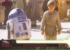 "Star Wars Jedi Legacy - Magenta Parallel Card 5A ""Met and Befriended R2"""