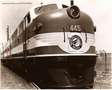 2500 Historical Vintage Train Railroad Photo images CD