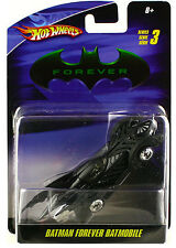 Hot Wheels Batman Forever Batmobile Diecast 1/50 Series 3 New