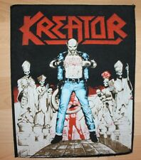 Kreator , Terrible Certainty Backpatch, 1987, ultra rar
