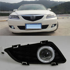 Superb COB Fog Lights Source Angel Eye Bumper Cover for Mazda 6 2004