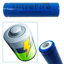 RECHARGEABLE BATTERY 3.7 V LONG-LASTING 18650 LITHIUM BATTERY TORCH LASER LI-ION