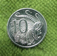 #C18.   1969  AUSTRALIAN  UNCIRCULATED 10 CENT COIN