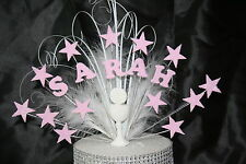 0092 COMMUNION BAPTISM GLITTERED CAKE TOPPER BIRTHDAY DECORATION  CAKE SPRAY