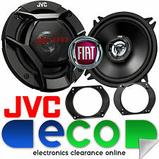 Fiat Marea 1995 - 2014 JVC 13cm 520W 2 Way Front Door Car Speakers & Brackets
