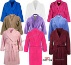BRAND NEW 100% LUXURY COTTON TOWELLING BATH ROBE DRESSING GOWN TERRY TOWEL SOFT