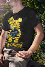 G-Shock Bumblebee Size XL Custom Design High Quality Cotton T-Shirt DTG Printing