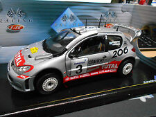 PEUGEOT 206 WRC Rallye Safari 2002 #3 Rovanperä Total RARE SPreis Solido 1:18
