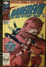 DAREDEVIL #181 Frank Miller FN-  Direct Edition Death Of Elektra!!!