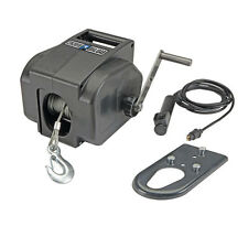 2000lb 12V Wired Electric Winch Marine Car Boat Trailer Ball Truck Towing ATV