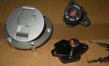 Cagiva Raptor 650 1000 NEW Lockset Ignition Switch Fuel cap seat lock V-raptor
