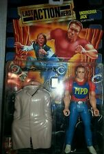 1993 Mattel Last Action Hero Movie Action Figure MOC - UNDERCOVER JACK