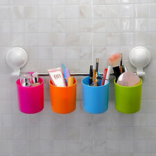 Cup Rack with Suction Cup Handy Rail - Trendy Multi-Colour Holding Cups SQ-1065