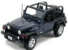 Maisto Jeep Wrangler Rubicon 1:18 Diecast Model Car Dark Blue