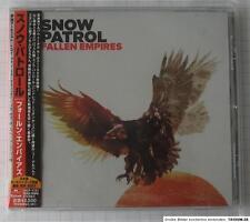 SNOW PATROL - Fallen Empires +1 BONUS JAPAN CD OBI NEU UICP-1131