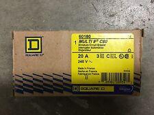 SQUARE D 60180 Multi 9 C60 Miniature Circuit Breaker