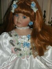 """2002 Paradise Galleries 34"""" Tall Donna Rubert Rustie Porcelain Doll"""