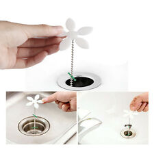 Kitchen Bathroom Drain Sewer Dredge Hair Wig Sink Hook Cleaning Tool Unique