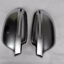 for Audi A4 S4 08-09 car mirror cover cap housing electroplating alu matt silver