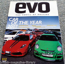 Evo Magazine Issue 112 - Car of the Year 2007