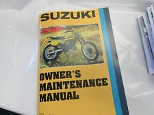 Suzuki PE400 owners manual 1980   PE400T