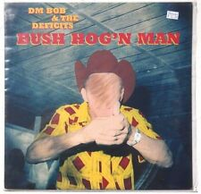 Sealed DM BOB & THE DEFICITS: Bush Hog'n Man LP CRYPT RECORDS CR-081 US 1997