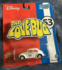 "Johnny Lightning Herbie ""The Love Bug"" Hollywood on Wheels Limited Edition"