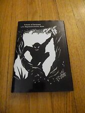 ECHOES OF DARKNESS L H Maynard & M P N Sims REVIEW COPY LIMITED x/250 Sarob 2000